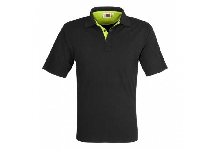 Mens Solo Golf Shirt - Lime