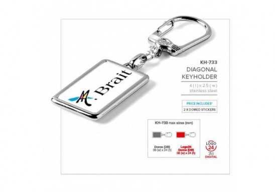 Diagonal Keyholder