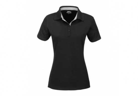 Slazenger Ladies Hacker Golf Shirt - Black