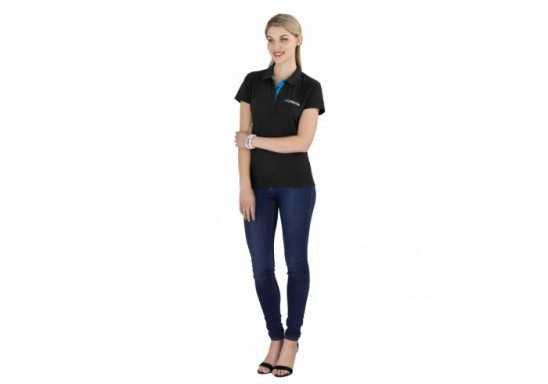 US Basic Ladies Solo Golf Shirt
