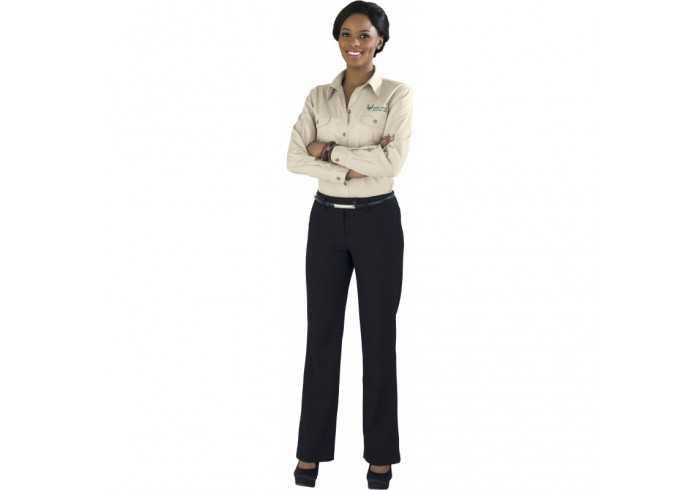 US Basic Ladies Long Sleeve Wildstone Shirt