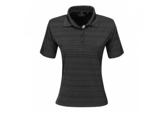 Ladies Astoria Golf Shirt - Black