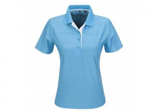 Gary Player Admiral Ladies Golf Shirt - Aqua