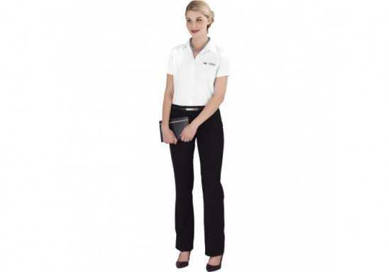 US Basic Ladies Short Sleeve Milano Shirt