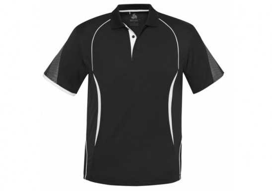 Mens Razor Golf Shirt - Black