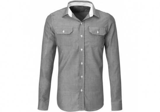 US Basic Mens Long Sleeve Windsor Shirt