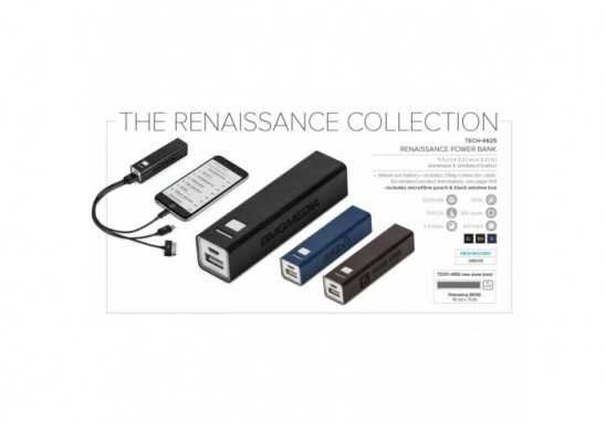 Renaissance 2200mAh Power Bank