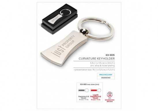 Curvature Keyholder