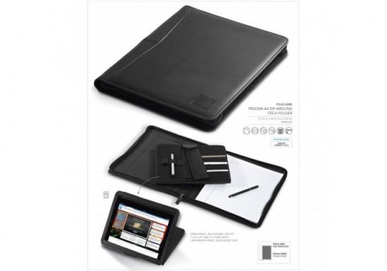 Pedova A4 Zip-Around Folder & Tablet Holder