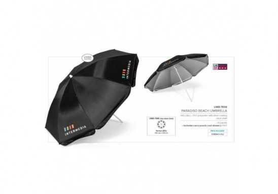 Paradiso Beach Umbrella - Black