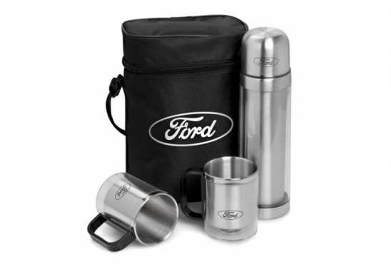 Admiral Flask & Mug Set - Frosted White