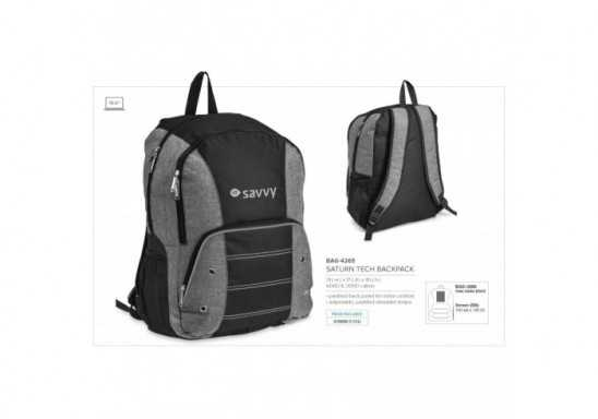 Saturn Tech Backpack - Grey