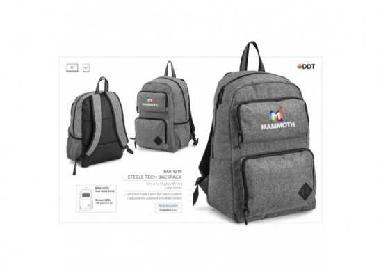 Steele Tech Backpack