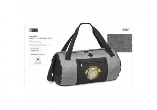 Greyston Sports Bag - Grey