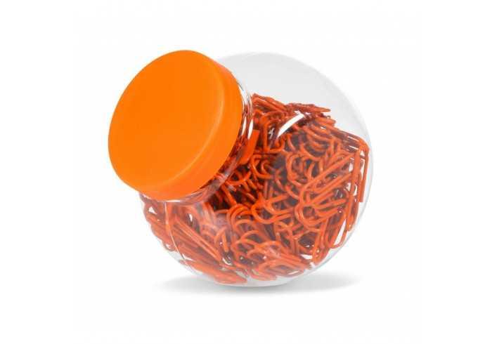 Fusion Paper Clips - Orange