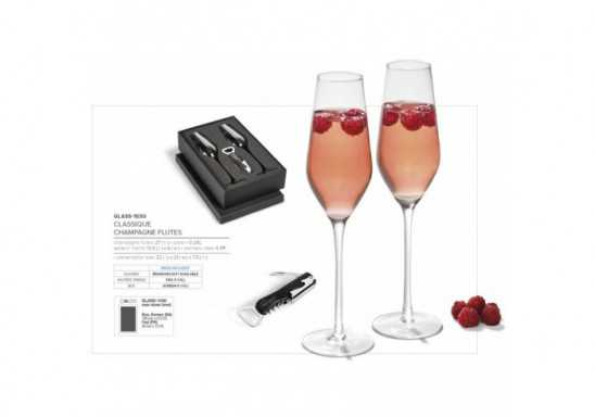 Classique Champagne Flutes