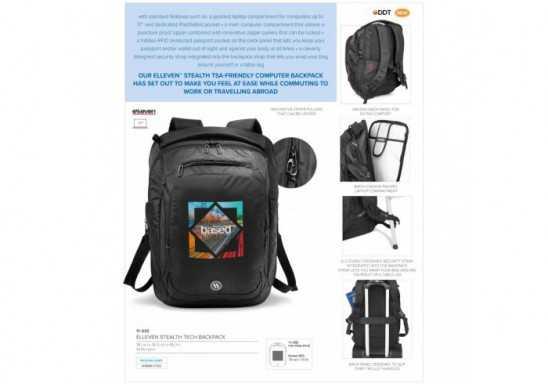 Elleven Stealth Tech Backpack