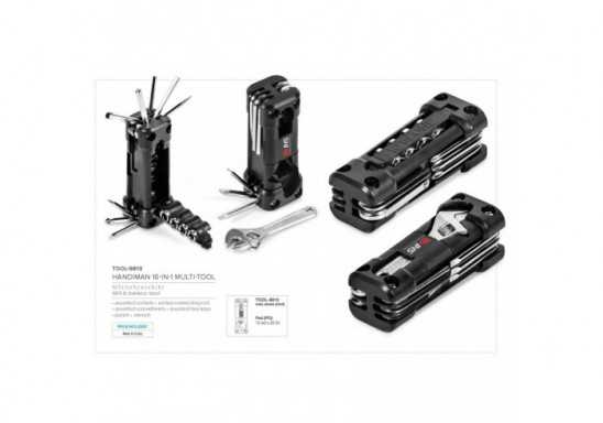 Handiman 16-In-1 Multi-Tool