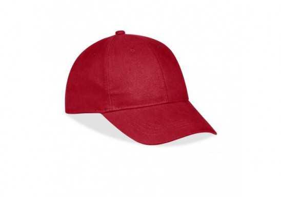 Sacramento 6 Panel Cap - Red