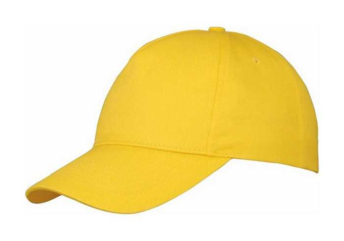 Us Basic Memphis 5 Panel Cap - Yellow