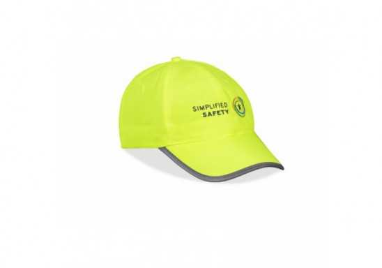 Safety-First 6 Panel Cap - Yellow