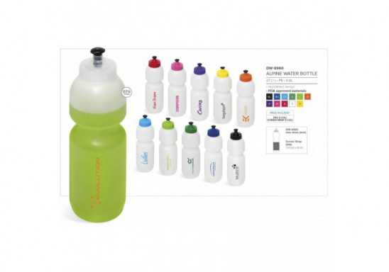 ALPine Water Bottle - 800Ml - Yellow
