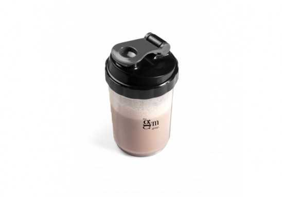 Powerhouse Protein Shaker - 600Ml - Transparent/Frosted White