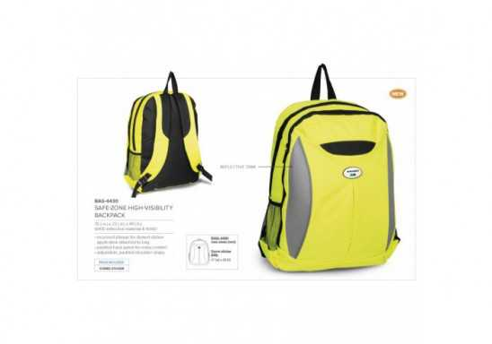 Safe Zone High Visibility Backpack