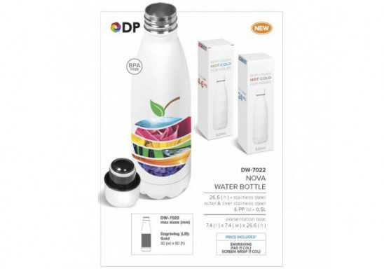 Nova Double Wall Drink Bottle - 500Ml