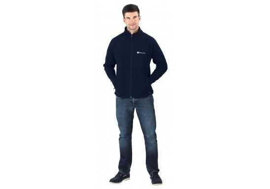 Slazenger Storm Mens Micro Fleece Jacket - Black