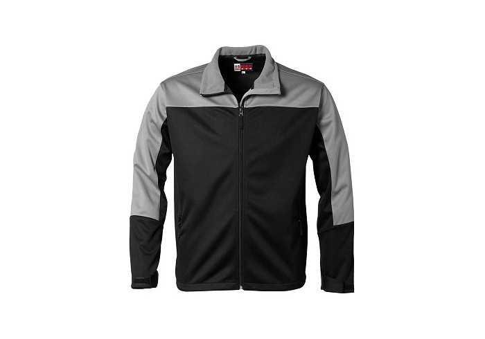 US Basic Attica Mens Softshell Jacket - Black
