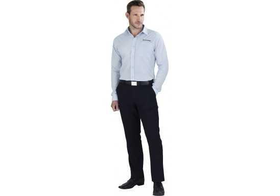 US Basic Mens Long Sleeve Kensington Shirt