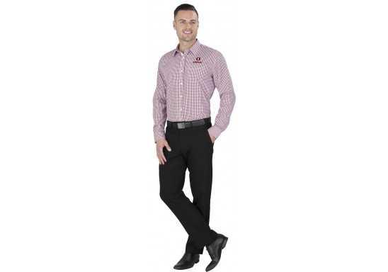 US Basic Kenton Mens Long Sleeve Shirt
