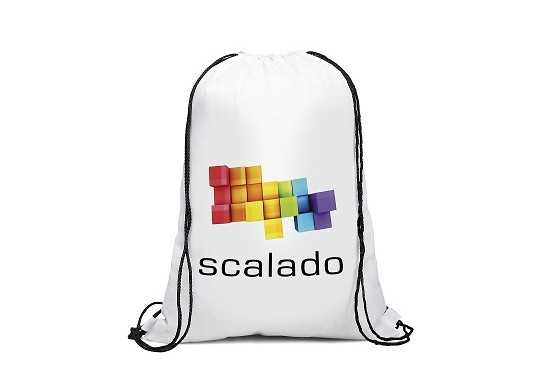 Condor Drawstring Bag - White