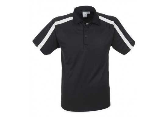 Monte Carlo Mens Golf Shirt - Black