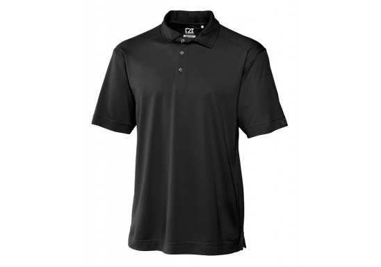 Cutter And Buck Genre Mens Golf Shirt - Black