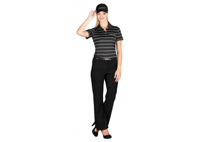Cutter And Buck Hawthorne Ladies Golf Shirt