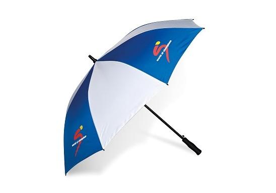 Harlequin Golf Umbrella - Blue Only