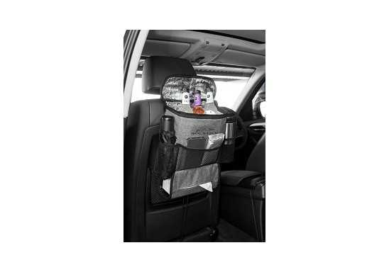 Greyston Backseat Cooler & Organiser - Grey