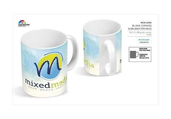 Blank Canvas Sublimation Mug