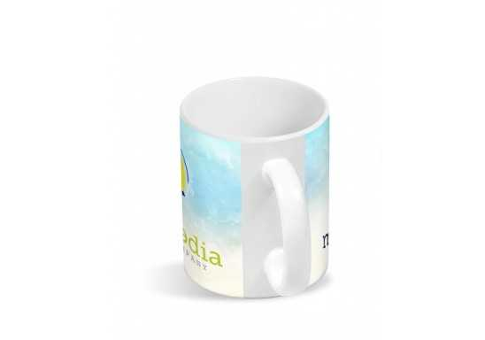 Blank Canvas Sublimation Mug - White