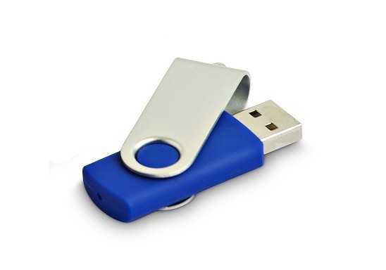 Rotary Memory Stick - Blue