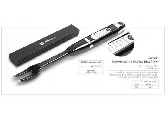 Braaimaster Digital Bbq Fork