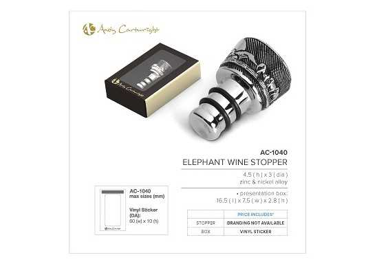 Elephant Wine Stopper