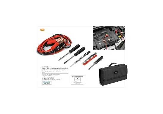Highway Vehicle Emergency Tool Kits