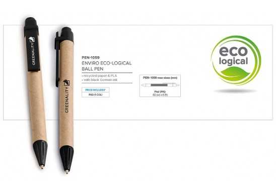 Enviro Eco-Logical Pen - Black