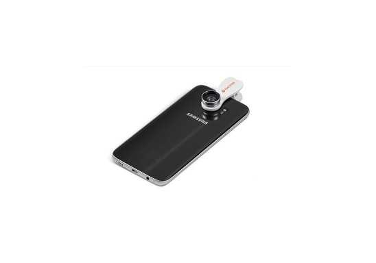 Focal Point Mobile Phone Lens - Solid White