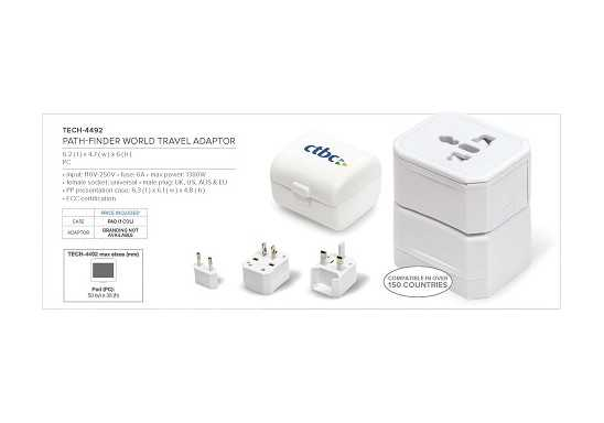 Path-Finder World Travel Adaptor