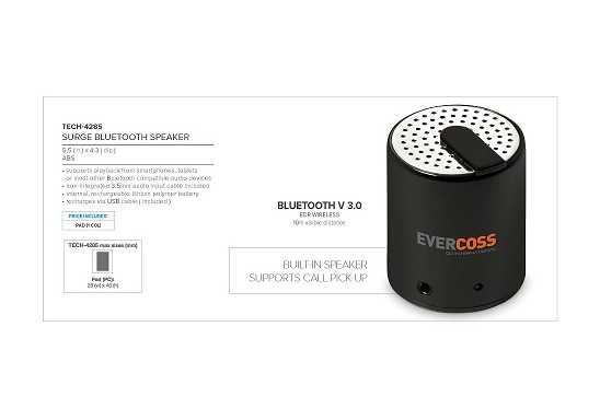 Surge Bluetooth Speaker