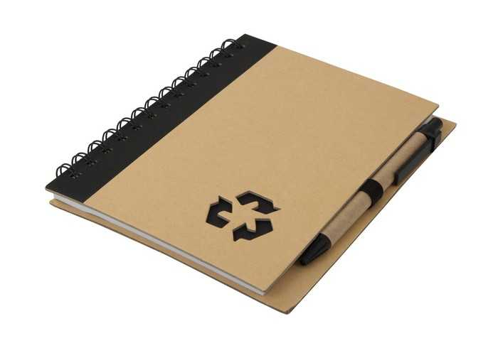 Thick Recycle Notebook & Pen